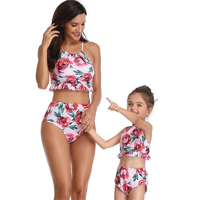 unbrand Mujer Bikini Conjuntos Natación Traje de baño de la ...