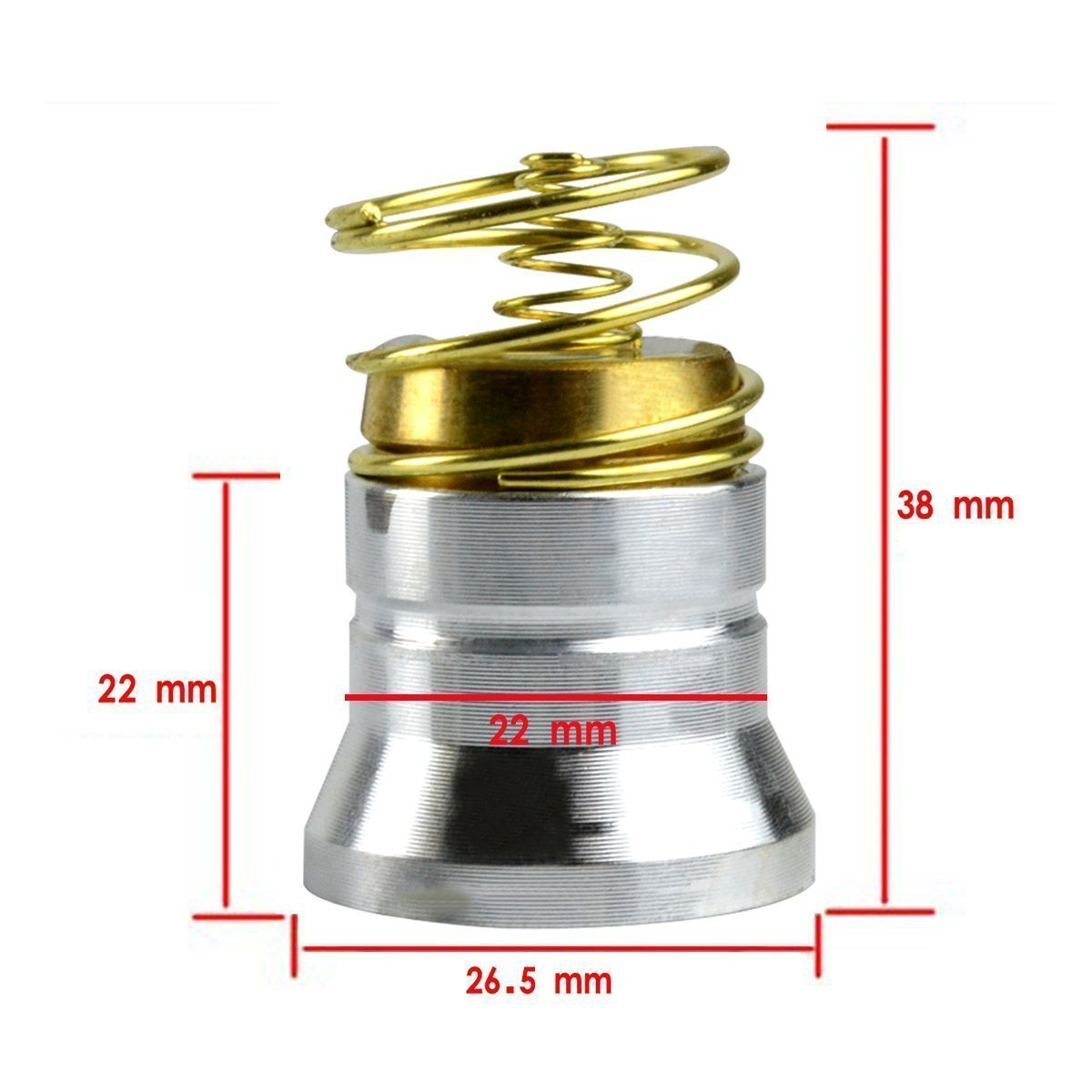 Amazon.com: BESTSUN 395nm Ultraviolet UV LED Black Light Flashlight Bulb 1 Mode Drop-in P60 Design Module Torch Repair Parts Replacement Bulb for Surefire ...