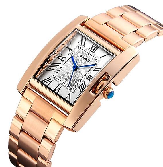Skmei marca de lujo reloj de cuarzo resistente al agua la mujer reloj Fashion señoras mujeres