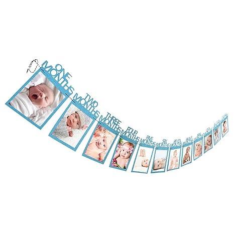Guirnalda Decorativa Del Primer Cumpleaños Del Bebé Con