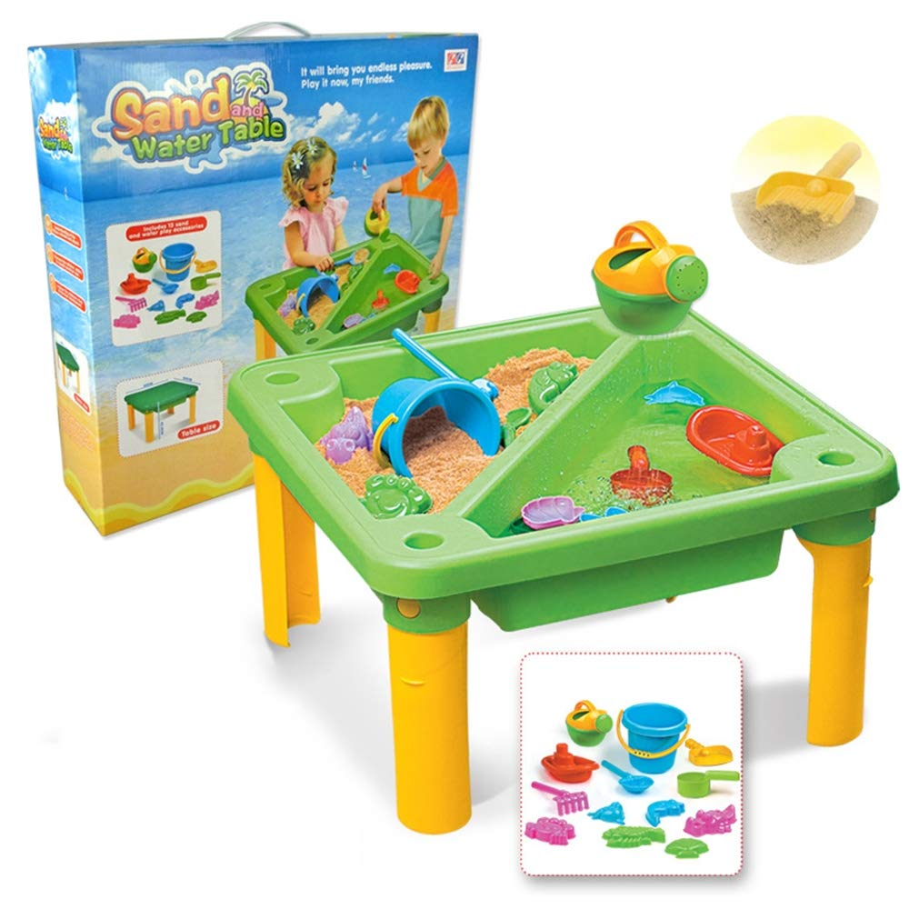 Children's Toy Sand Water Table Set, Beach Table Multiplayer Summer Play Water Kids Amusement Park Toys Seaside Play Holiday Travel by Pandady (Image #7)