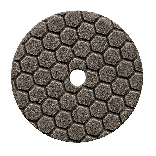 Chemical Guys BUFX116HEX5 Hex-Logic Quantum Finishing Pad (Black, 5.5 Inch)