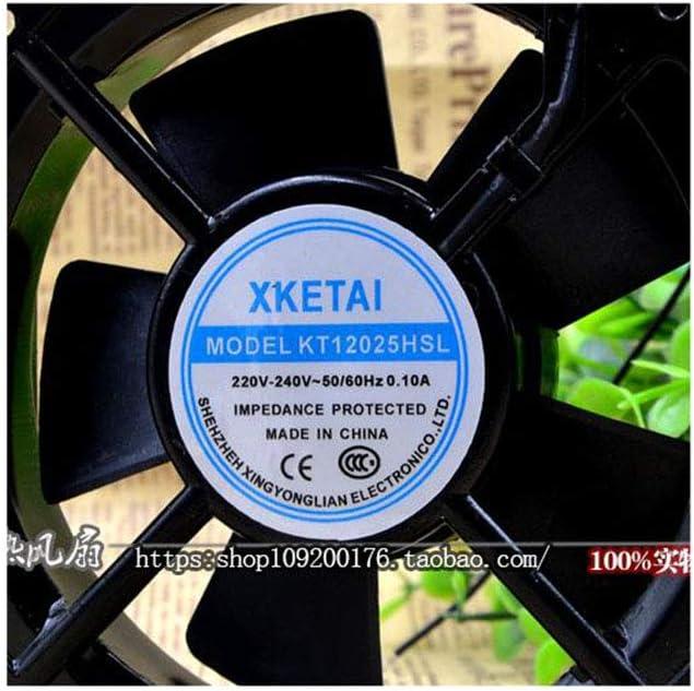Cytom for Original XKETAI KT12025HSL 220V 0.10A 12025 12CM Cabinet Cooling Fan