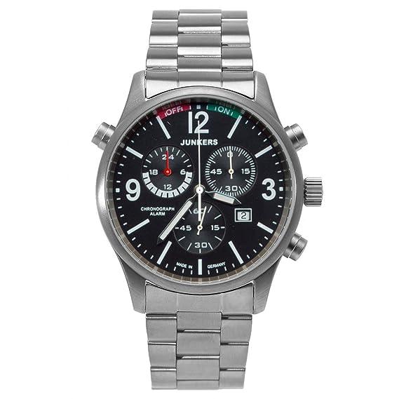 Junkers 6296M2 - Reloj para caballero de titania negro