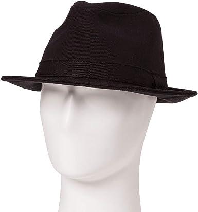 Goodfellow & Co Men's Fedora Hats (Black, M/L) at Amazon Men's Clothing  store