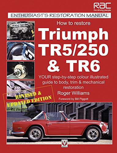 ph TR5, TR250 & TR6 (Enthusiast's Restoration Manual series) (Enthusiasts Restoration Manual)