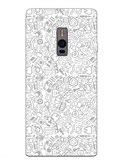 newest collection d8b50 6f020 OnePlus 2 Back Cover - Dental Pattern - for Dentists: Amazon.in ...