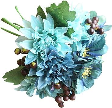 Amazon.com: Longay - Ramo de flores artificiales de seda ...