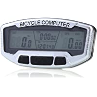Sport Wired Cycle Computer SD-558A Sliver for Bicycle Enthusiasts