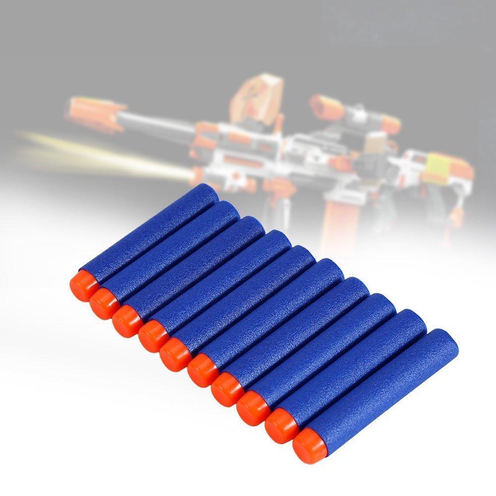 Yosoo Sostituzione 100 Pezzi per la Serie NF Strike di Nerf Round Blasters per Nerf N-Strike Blue