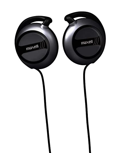 Amazon.com  Maxell EC-150 Wired Lightweight Soft Touch Rubber Cord ... 6cf5f1b8e2635