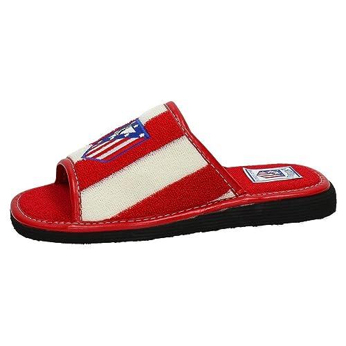 ANDINAS 594-20 ATLÉTICO Madrid CASA Hombre Zapatillas CASA Blanco-Rojo 47: Amazon.es: Zapatos y complementos