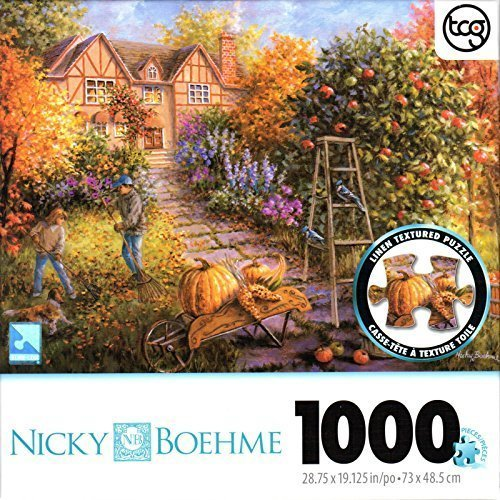 George Autumn Commissioned By Nicky Boehme 1000 Piece Puzzle