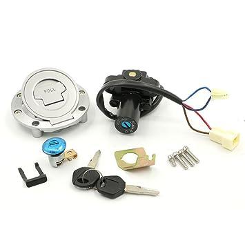 1999-2005 Ignition Switch Lock Fuel Gas Cap Key Set For Yamaha YZF R6