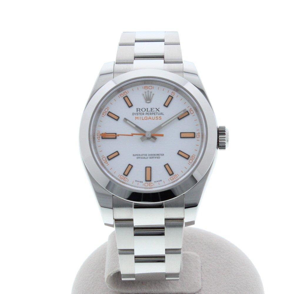 buy popular 63de4 71f4c Amazon | [ロレックス]ROLEX 腕時計 ミルガウス ランダム 白文字 ...