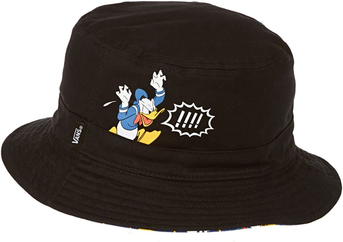 Vans Bucket Gorro de pescador, Multicolore (Donald Duck), L/XL ...