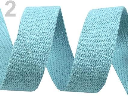 5m Luz Azul cinta de Algodón Ancho 30mm, Correas, artículos de Mercería: Amazon.es: Hogar
