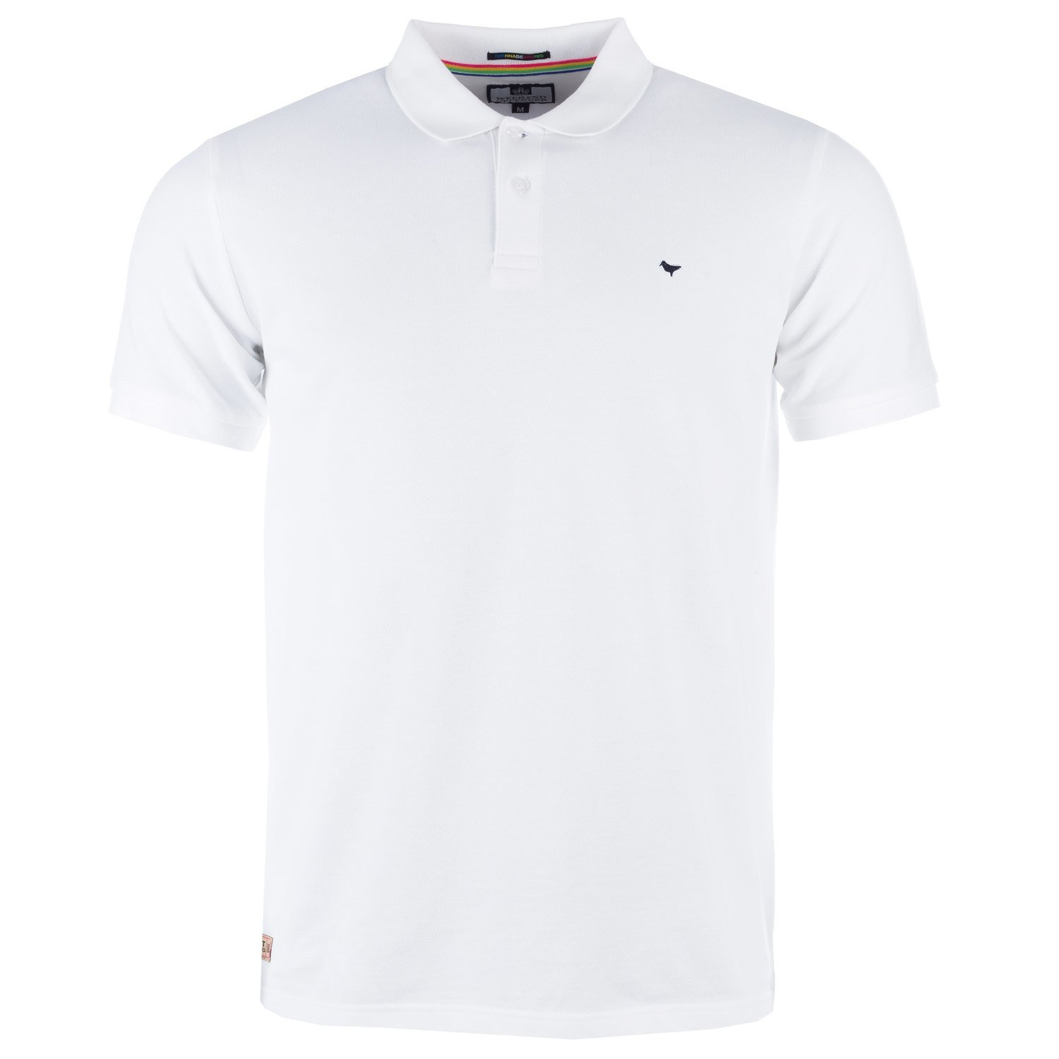 Weekend Offender - Polo - para hombre Blanco blanco Small: Amazon ...