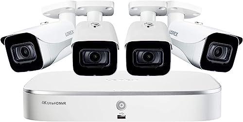 Lorex Weatherproof Indoor Outdoor Wired Home Surveillance Security System