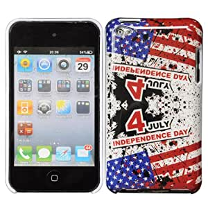 Bfun Independence Day July 4 Hard Cover Case Skin For Apple iPod Touch 4 4G 4TH