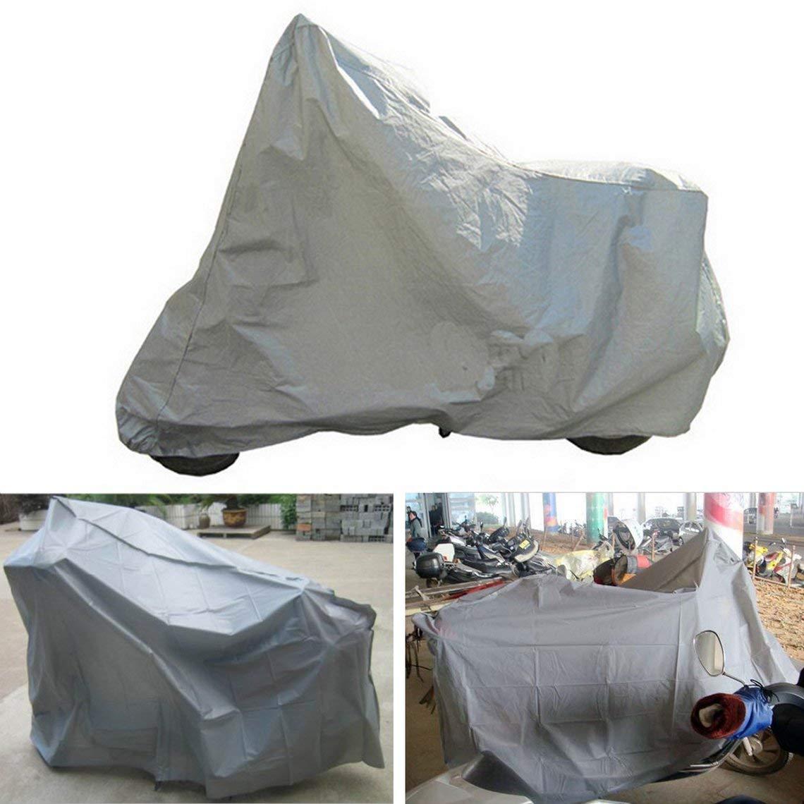 Protection compl/ète Moto Couvre Anti UV /étanche /à la poussi/ère /étanche /à la Pluie Couvrant Moto Respirant Capuche Tente int/érieure en Plein air