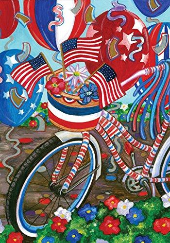 Toland Home Garden Patriotic Pedals Decorative Colorful