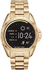michael kors acceso Unisex 45mm goldtone Bradshaw visualización táctil reloj inteligente