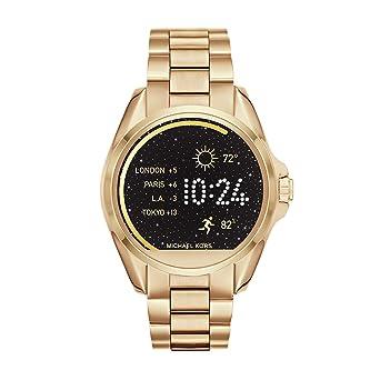 Amazon Com Michael Kors Access Women S Smartwatch Bradshaw Gold