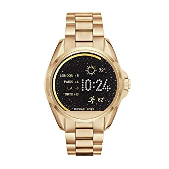 6ebc65be0c9c Buy Michael Kors MKT5001 Access Touch Screen Gold Bradshaw Smartwatch  Online at Low Prices in India - Amazon.in