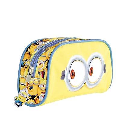 Disney Descendants Pencil Case 3 Multi Compartments Girls Kids School Stationary