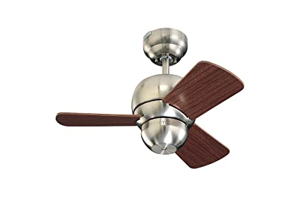 Monte carlo 3tf24bs micro 24 inch 3 blade ceiling fan with mahogany monte carlo 3tf24bs micro 24 inch 3 blade ceiling fan with mahogany blades aloadofball Image collections
