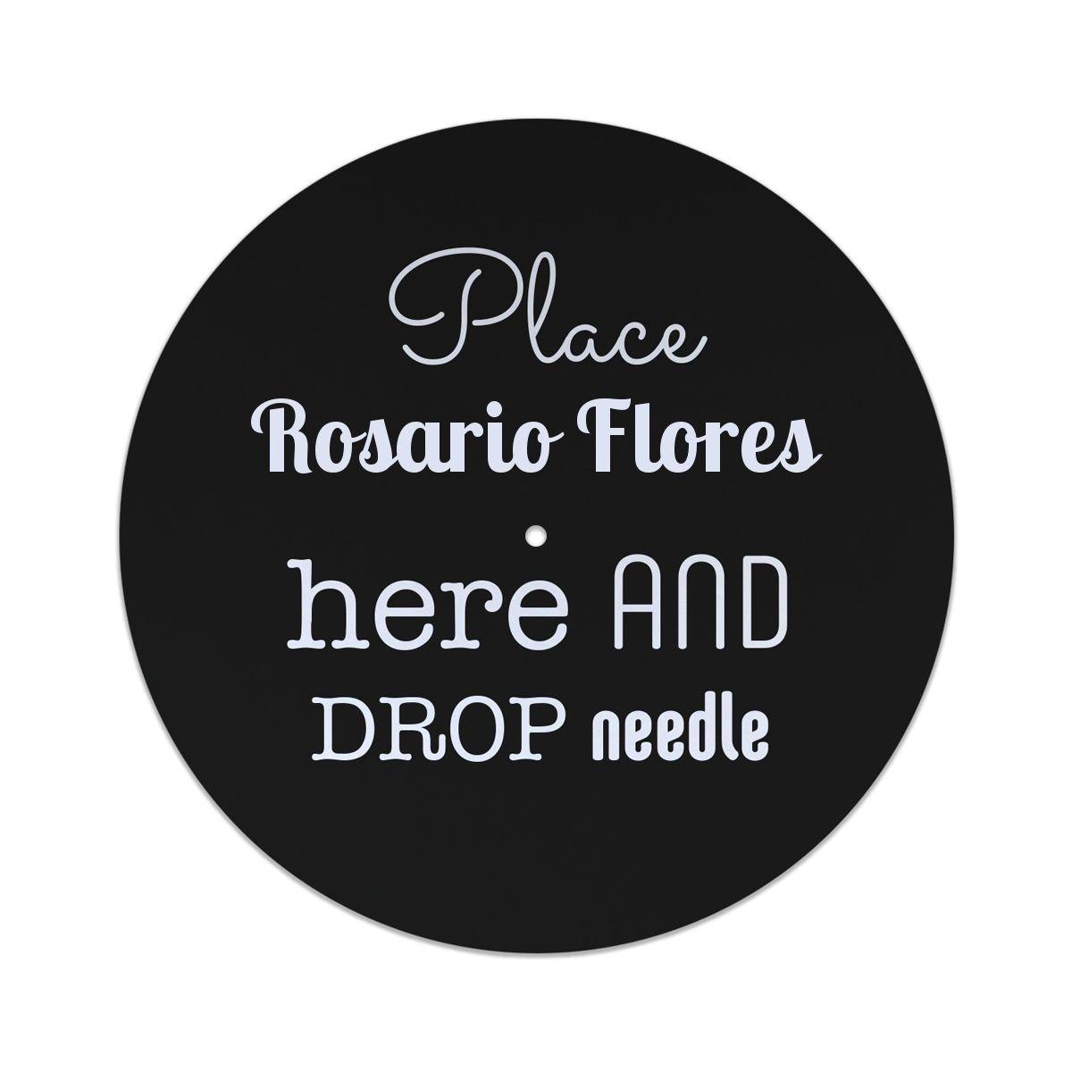 Coloque Rosario Flores aquí y suelte el deslizador de la aguja: Amazon.es: Instrumentos musicales
