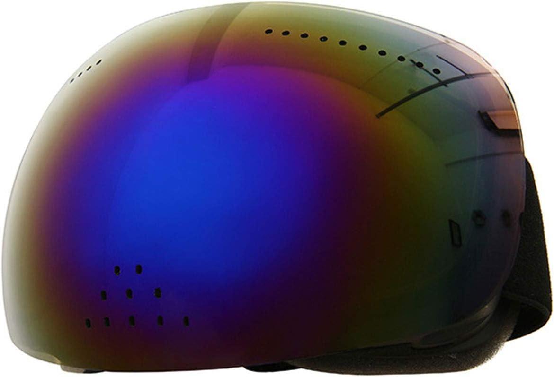 Gafas De Esquí, Gran Superficie Esférica, Gafas De Cara Completa, Nariz Y Nieve, Antivaho De Doble Capa