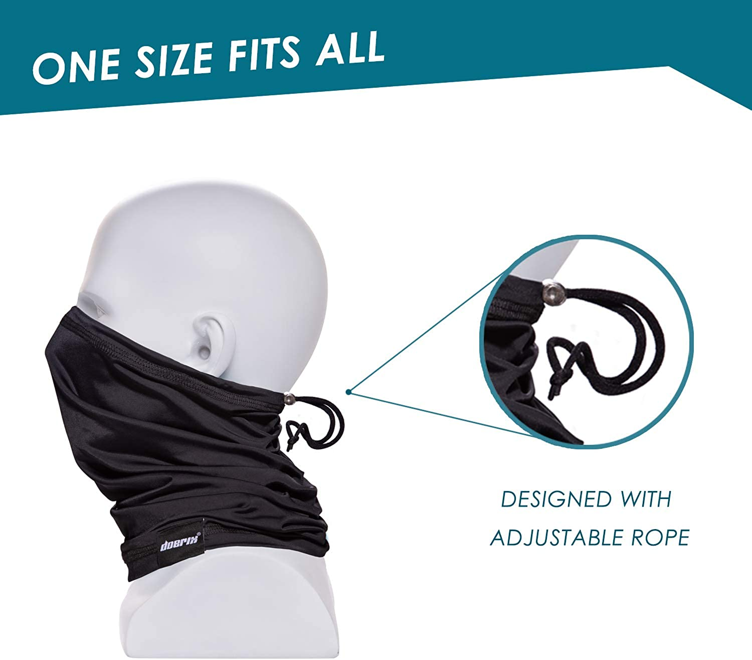 Neck Gaiter Face Mask Reusable, Cloth Face Masks Washable Bandana Face Mask, Sun Dust Protection Balaclava Face Cover Scarf Shield for Fishing Cycling at  Men's Clothing store