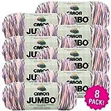 Caron 99575 Jumbo Print Yarn-Easter Basket, Multipack of 8, Pack