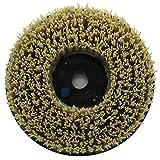 Easy Light 10 Inch Strong Diamond Abrasive Round Brush for Stone Grit 1000