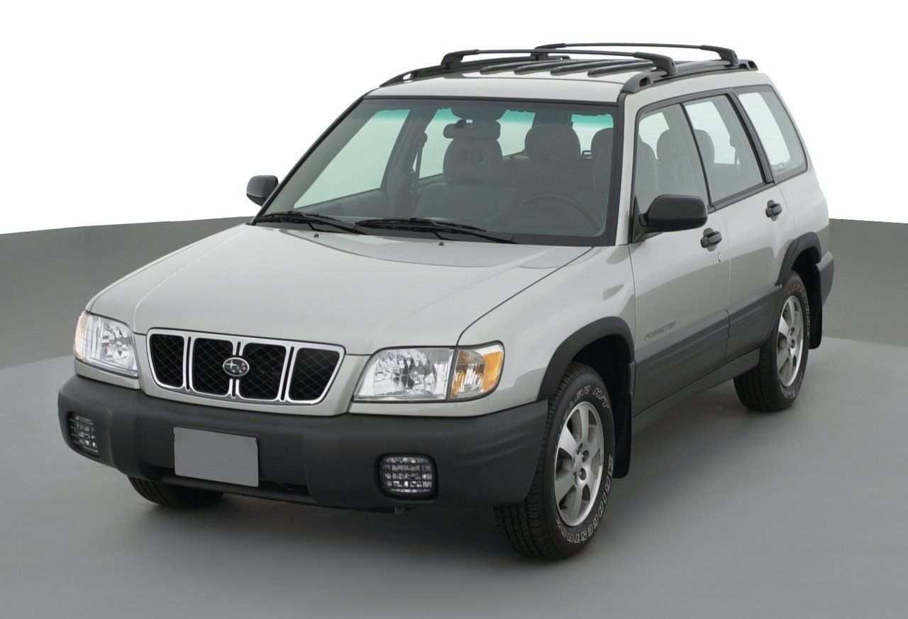 2002 subaru forester l 4 door automatic transmission