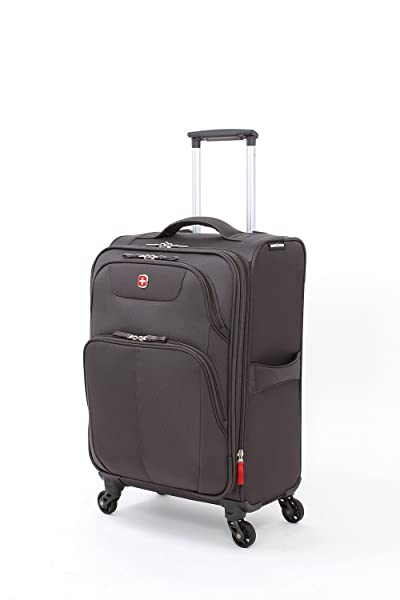 "SwissGear Meyrin 20"" Expandable Spinner Suitcase"