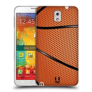 Head Case Designs Basketball Ball Collection Soft Gel Back Case Cover for Samsung Galaxy Note 3 N9000 N9002 N9005