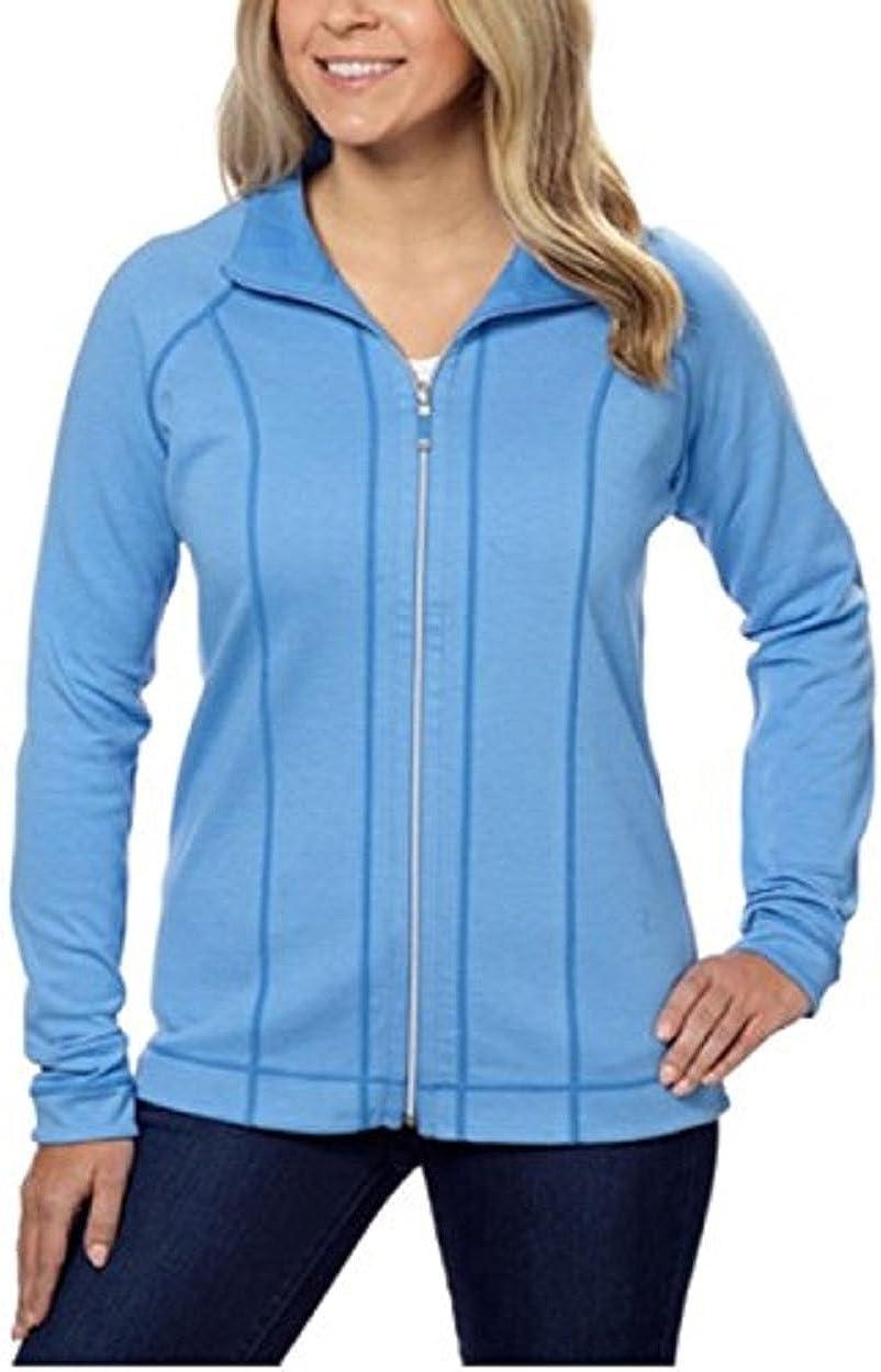 Kirkland Signature Womem/'s Ladies Revirsible Jacket Warm Full Zip Variation NEW