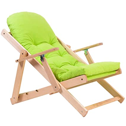 Amazon.com : Folding Chairs Recliner Nap Adjustable Sofa ...