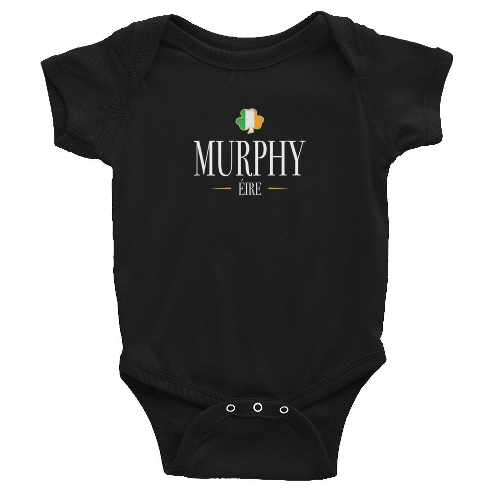 Murphy Irish St Patricks Day Infant Bodysuit