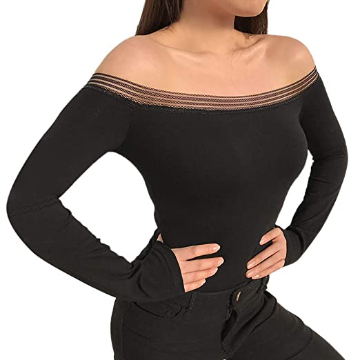 17166c2e82f9 Image Unavailable. Image not available for. Color  Sale Women s Jumpsuits  KpopBaby Long Sleeve ...