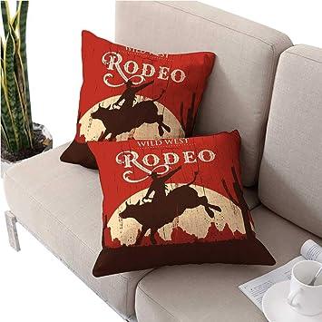 Amazon.com: Fundas de almohada Vintagedecorativas para ...