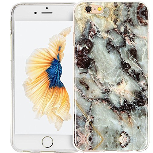 Schutzhülle für Apple iPhone 6 Marmor Marble Star case cover Panelize (iPhone 5, Star)