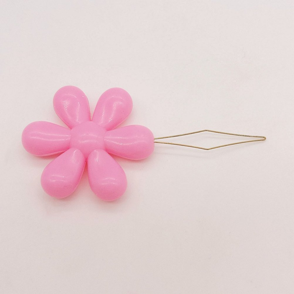 Random Color Healifty 30pcs Needle Threaders Bow Wire Stitch Insert for Sewing Machine