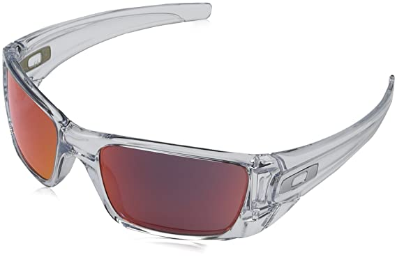 Mens Oakley Sunglasses  oakley mens fuel cell sunglasses, polished clear/torch iridium, one size