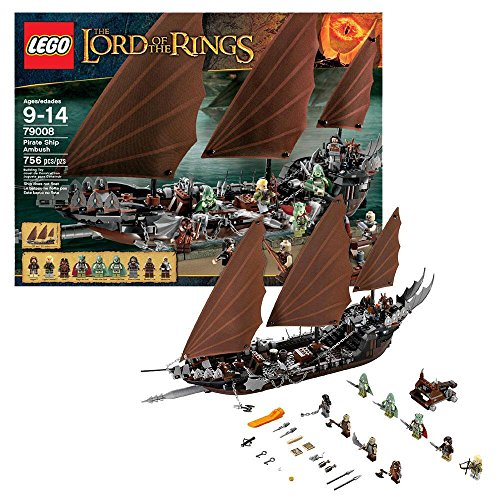 LEGO LOTR 79008 Pirate Ship Ambush (Discontinued by manufacturer) (Legos Lord The Of Rings)