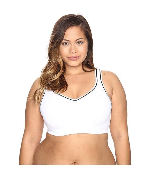 144438762 Ideology Womens Contrast Trim Adjustable Strap Sports Bra White 40C   Amazon.ca  generic