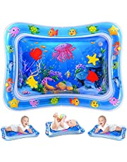 Inflatable Tummy Time Premium Water mat Infants and Toddlers is The Perfect Fun time Play Activity Center Your Baby's Stimulation Growth